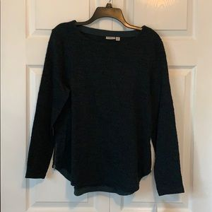 Dark green with black specks sweater